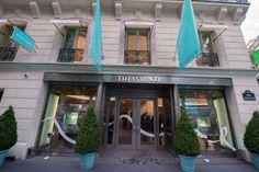 L'inauguration du flagship Tiffany&Co. sur les Champs-Elysées à Paris