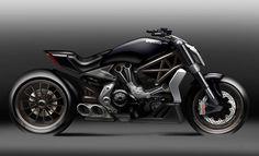 Ducati Diavel X - Sketch