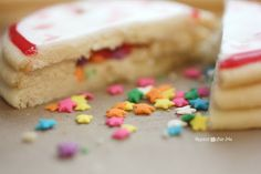 Repeat Crafter Me: New Years Confetti Clock Cookies