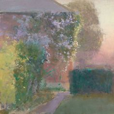 'Clematis' by Fred Cuming RA (oil on panel)
