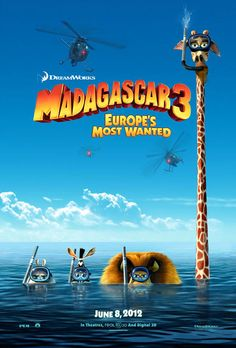 Madagascar 3: Europe's Most Wanted. LOL that giraffe :D