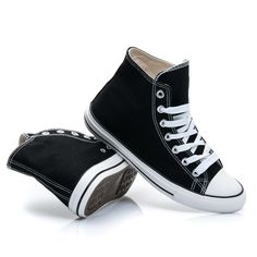 CZARNE TRAMPKI OLDSCHOOL Old School, High Tops, High Top Sneakers, Shoes, Fashion, Zapatos, Moda, Shoes Outlet, La Mode