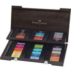 FABER-CASTELL PITT artist pen 90 pens in a wooden box