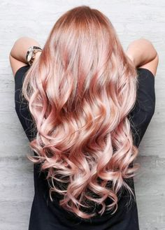 "happyadorning:  """"Rose Gold Hair Envy  "" """