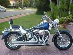 2004 Harley-Davidson FAT BOY Cruiser , Blue, 21,894 miles for sale in Safety Harbor, FL