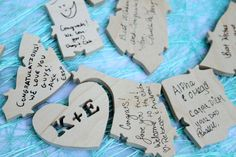 Wedding Guestbook, Love puzzle Guestbook, Wedding Guest Book, Reception Decorations, Our Love, Puzzle, Events, Wedding Ideas, Gallery, Creative
