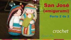 San José tejido a crochet (amigurumi) Parte 2 de 2