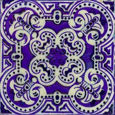 Portuguese #tile with bright, vivid color!