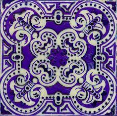 Portuguese #tile with bright, vivid color!
