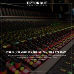 Müzik prodüksiyonu için üretilen programların ne işe yaradıklarını ve bu programlar arasından en kullanışlı ve kaliteli 5 programı listeledik!  https://www.erturgutsanatmerkezi.com/muzik-produksiyonu-icin-en-kaliteli-5-program/