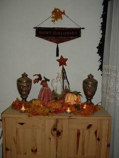 Entry hall, Halloween 2006