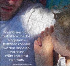 Wir müssen nicht auf alle Wünsche eingehen – trotzdem können wir den anderen und seine Wünsche ernst nehmen.  Jesper Juul • familylab.de