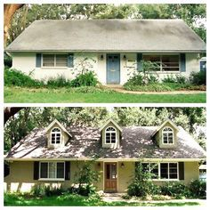 Today I have a collection of 8 Before & After photos of small homes that were given a facelift. The results are amazing and easily achievable.