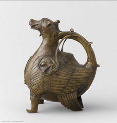 Griffin Aquamanile,   Lower Saxony? (c. 1200)  Copper