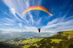 ~Top 10 Health Benefits of Paragliding~ As both a recreational and competitive sport, Paragliding suspends you from a parachute gliding hundreds of feet above the earth and offering a unique perspective of the surrounding environment. #paragliding #paraglidingintenerife #flytenerifeparagliding #skyparafly