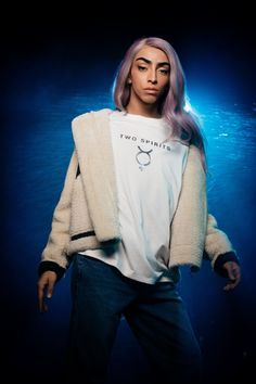 Two Spirits, la nouvelle collection no gender signée DCM Jennyfer x Bilal Hassani Bilal Hassani, Two Spirit, Best Songs, Transgender, Thats Not My, Bomber Jacket, Lady, Youtube, Loyalty
