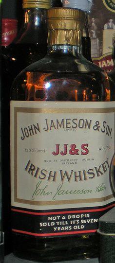 irish whiskey bottle old - Google Search