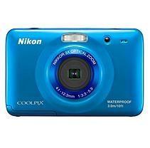 Nikon Coolpix S30 10.1MP Digital Camera - Blue