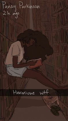 Hermione Granger By Pansy Parkinson Fanart Harry Potter, Harry Potter World, Saga Harry Potter, Harry Potter Drawings, Harry Potter Ships, Harry Potter Universal, Harry Potter Memes, Drarry, Hogwarts
