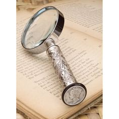 SILVER MERCURY DIME MAGNIFYING GLASS  #coinsets, #coingifts