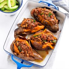 Spicy Chill Con Carne With Roast Sweet Potato