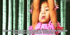 Oh my freaking god these are hilarious, you absolutely must look at these! Top 40 Most Ridiculous Quotes From Toddlers & Tiaras [Gallery] Toddler Pageant, Pageant Girls, Funny Pins, Funny Memes, Hilarious, Funny Stuff, Ridiculous Quotes, Toddlers And Tiaras, Hello Giggles