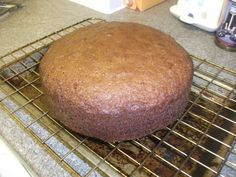The orange and carrot cake that I baked last night, first cake I've made for 35 years, it was pretty good (31/10/12)