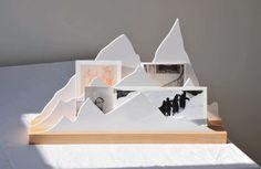 Alpes Schreibtisch-Organizer / L 45 cm - L'atelier d'exercices