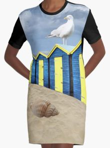 The Great British Seaside Graphic T-Shirt Dress 20% off today use code CARPE20 #redbubble #newfromredbubble #redbubbledress #digiprint #printeddress #print #pattern #patterneddress #graphicdress #graphic #sublimation #dyesublimation #alternative #fashion #ss16 #indie #indiedesign #design #tshirtdress #minidress #women #fashion #newdress #newclothes