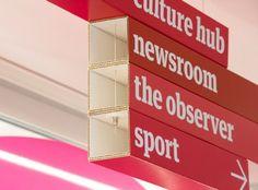 Cartlidge Levene - Sistema de Señalización para Guardian News & Media, Londres