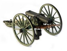 Precisely cast white metal parts include left and right trail, cannon barrel and ready-to-mount wheels. Rammer head, water and grease buckets, rope, chain plus other detail and accessory pieces ensure a historically accurate model. Illustrated assembly instructions make for easy building. Assembly time 5-10 hours.