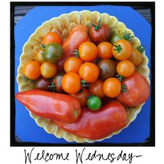 Welcome Wednesday! Did you know that September is Organic Harvest Month?