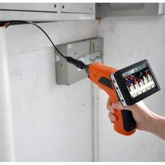 """http://endoskop.se/inspektionskamera-r33930/ovriga-instrument-r47441/monitorendoskop-4-5mm-kameradiameter-och-1m-langd-58-8807AL1-r47448  Monitorendoskop 4,5mm kameradiameter och 1m längd  4,5 mm sonddiameter och trådlös 3,5 """" LCD-monitor som kan spara bilder eller video. Revolutionerande lågt pris!"""