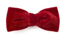 Bow tie Red velvet model Elio by Bowking