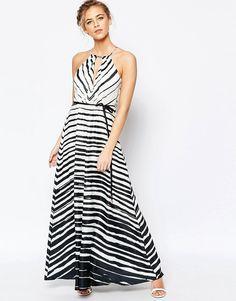 Image 1 ofCoast Marseille Maxi Dress in Stripe