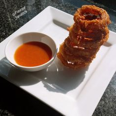 Crispy Onion Rings recipe by Aqueelah Hadia