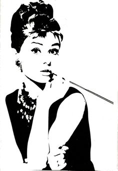 Audrey Hepburn24inch HWall Art Home Decors Murals by PopDecals, $20.00