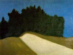 tickiotock:  Dark Forest (1958) by Milton Avery