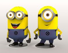 Blog Paper Toy papercrafts Minions PaperReplika pic Papercrafts Minions de Paper Replika