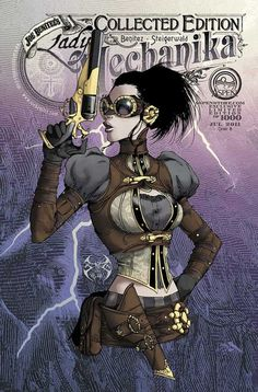 Lady Mechanika comic: http://www.joebenitez.com/mechanika.htm