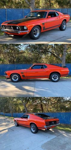 1969 Ford Mustang Boss - Cars for sale - automobil Ford Mustang Boss, Mustang Cars, Ford Mustangs, Mustang 1964, Mustang Gt500, Classic Mustang, Ford Classic Cars, Classic Camaro, Best Muscle Cars