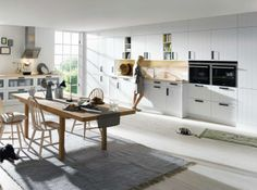A Schüller Kitchen is made for you, with international award winning design, features and quality you would expect but at a price you wouldn't. A Schüller Kitchen Shop, New Kitchen, Küchen Design, Interior Design, Free Design, German Kitchen, Farmhouse Style Kitchen, White Farmhouse, Kitchen Cabinetry