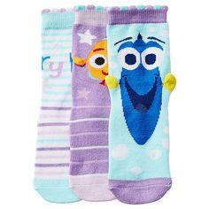 Finding Dory 3 Pack Socks
