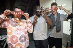 Cyrcle » CYRCLE x Revolt tv