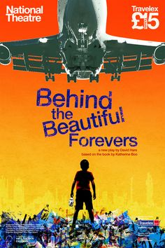 Behind the Beautiful Forevers poster art design and illustration by M Millington