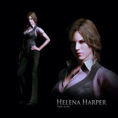 Resident evil 6 helena harper hentai
