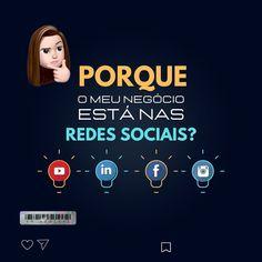 """""""Primeiro é muito importante definir qual o objetivo de estar presente nas mídias sociais.👩🏻💻👨🏾💻…"""" Movie Posters, Social Media, Goal, Gift, Film Poster, Billboard, Film Posters"""