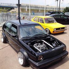Golf Mk2, Mode Of Transport, Mk1, Volkswagen Golf, Custom Cars, Cool Cars, Dream Cars, Super Cars, Blessed Mother