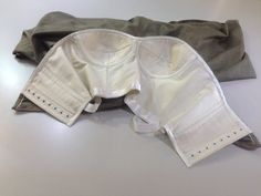 Corset support inside couture garment Culture to Couture 2014