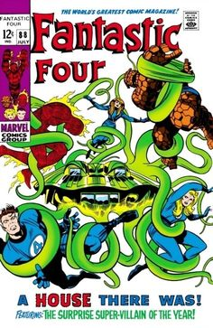 Fantastic Four #88 - A House There Was
